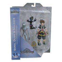 Kingdom Hearts - SORA, DUSK...