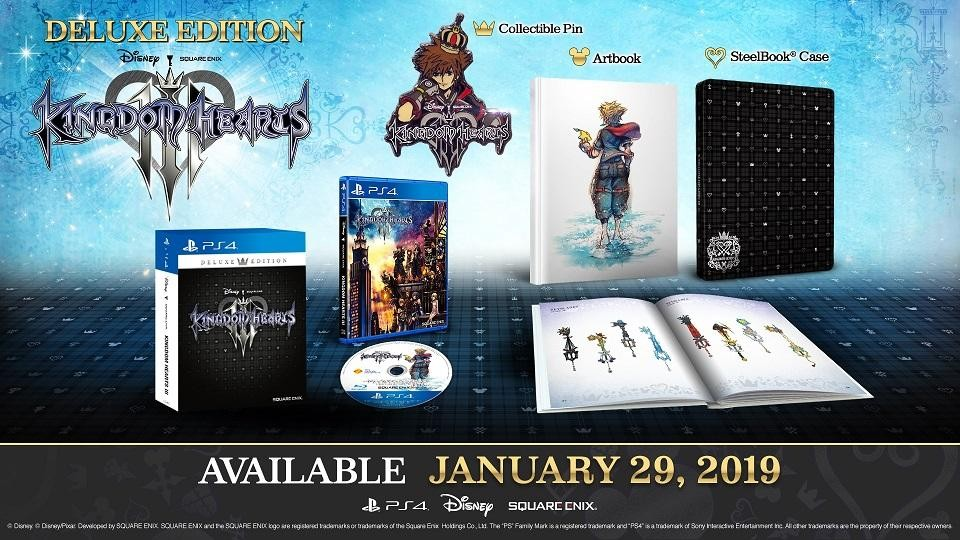 Kingdom Hearts III - Deluxe Edition - PlayStation 4 ENGLISH VER